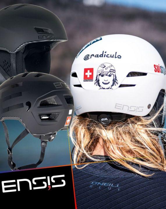 Foilsurfing helmets